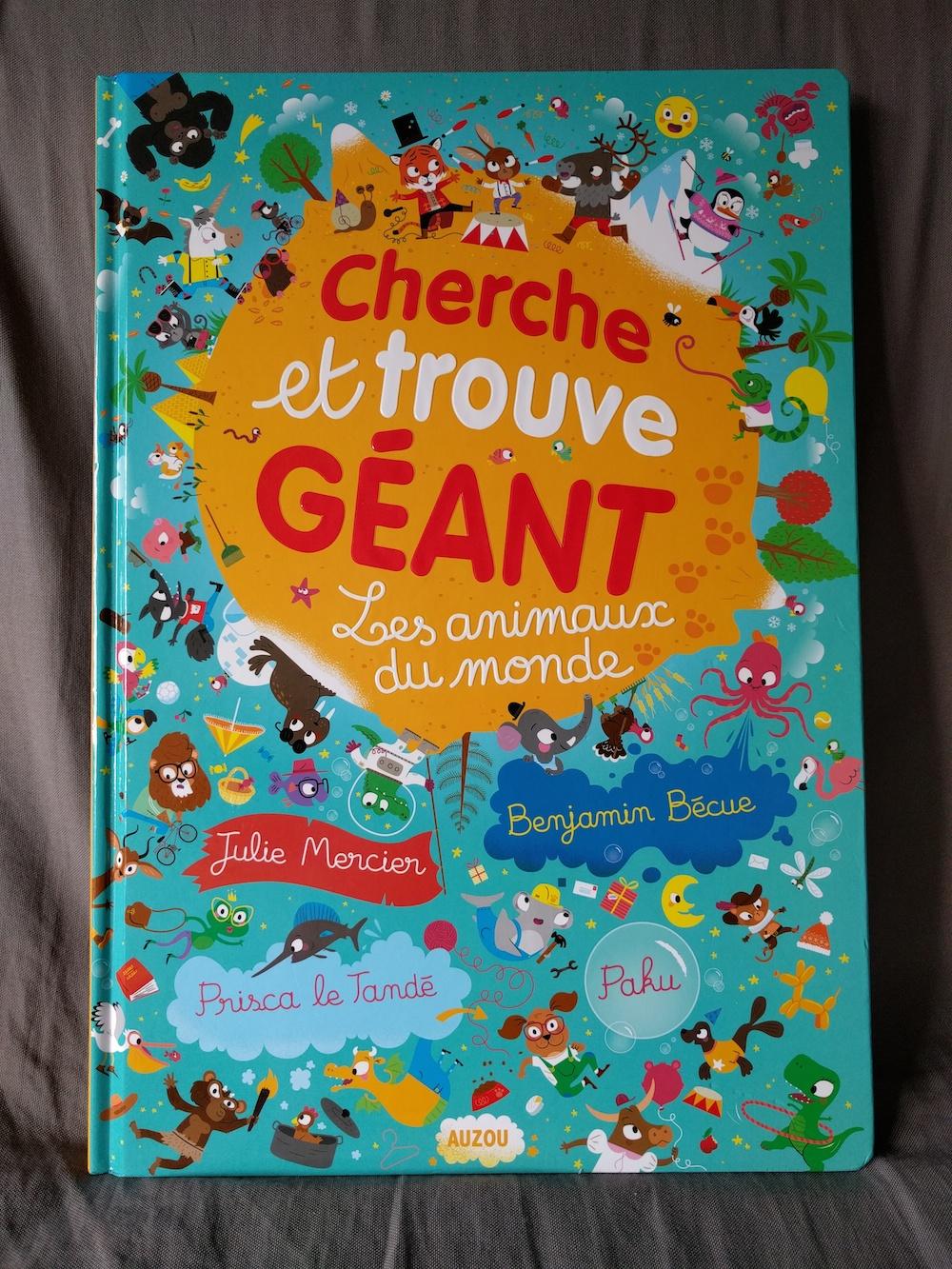 Cherche Et Trouve Geant Les Animaux Du Monde Des